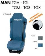 Coprisedile in Microfibra Traspirante AntiSudore AIRTECH per Camion MAN TGA TGL TGM TGS TGX