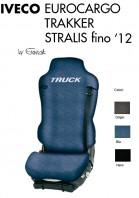 Coprisedile Singolo in Cotone per Camion IVECO EUROCARGO TRAKKER STRALIS fino al 2012