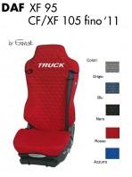 Coprisedile Singolo in Cotone Trapuntato per Camion DAF XF95 CF e XF 105 fino al 2011