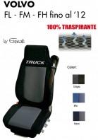 Coprisedile in Microfibra Traspirante 3D AntiSudore AIRPLUS per Camion VOLVO FL FM FH fino al 2012