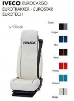 Coprisedile Singolo in Ecopelle e Microfibra Camion IVECO EUROCARGO EUROTECH EUROTRAKKER EUROSTAR