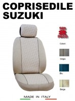 Coprisedili Anteriore per Auto SUZUKI con AIRbag GRIFFE 2Pz.