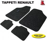 Tappeti in Moquette 4 Pz. EXCLUSIVE per Auto RENAULT