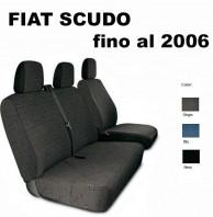 Coprisedili Furgone 3 Posti Fiat SCUDO fino al 2006