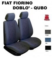 Coprisedili Auto Furgonate Fiat Fiorino Qubo Doblò 2 Pz.