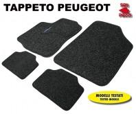 Tappeti in Moquette 4 Pz. EXCLUSIVE per Auto PEUGEOT