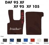 Tappeti su Misura Trucker in Ecopelle per Camion DAF 95 XF - XF 95 e XF 105