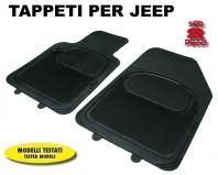 Tappeti in Moquette 4 Pz. COMFORT per Auto JEEP