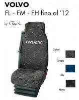 Coprisedile in Tessuto Super Resistente per Camion VOLVO FL FM FH fino al 2012