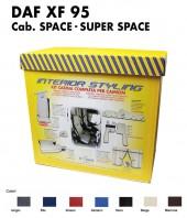 Kit Interno Cabina Completo su Misura per Camion DAF XF 95 Cabina Space e Super Space