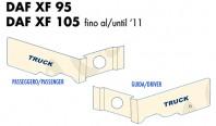 Coprisupporti Sedile Guida e Passeggero Camion DAF XF 95 - XF 105 fino al 2011