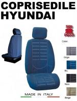 Coprisedili Anteriore in Microfibra Protezione Completa per Auto HYUNDAI con AIRbag mod. TECHNO 2Pz.