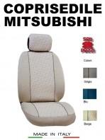 Coprisedili Anteriore per Auto MITSUBISHI con AIRbag GRIFFE 2Pz.