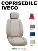 Coprisedili Anteriore per Auto IVECO con AIRbag GRIFFE 2Pz.