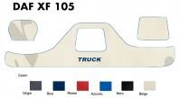 Copricruscotto Copertura Cruscotto su misura per Camion DAF XF 105
