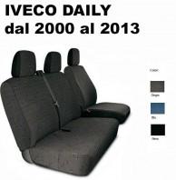 Coprisedili Furgone 3 Posti IVECO Daily dal 2000 al 2013