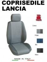 Coprisedili Anteriore Tessuto Traspirante per Auto LANCIA con AIRbag PREMIUM 2Pz.