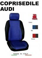 Coprisedili Anteriore Sedile Sportivo in Tessuto Traforato per Auto AUDI con AIRbag mod. CHRONO 2Pz.