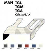 Copricofano Copertura Cofano su Misura per Camion MAN TGM, TGL, TGA Cabina M, L, LX