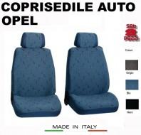 Fodere Coprisedile Anteriori in Cotone per Auto OPEL 2Pz.