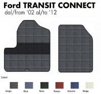 Tappeti Auto Furgonate FORD Transit Connect dal 2002 al 2012 2 Pz.