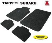 Tappeti in Moquette 4 Pz. EXCLUSIVE per Auto SUBARU