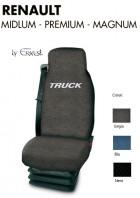 Coprisedile Singolo in Cotone per Camion Renault MIDLUM PREMIUM MAGNUM