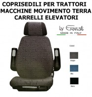 Coprisedile Trattore Macchine Movimento e Carrelli Elevatori per Sedile GRAMMER ACTIMO