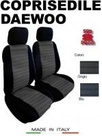 Coprisedili Anteriore per Auto DAEWOO con o senza AIRbag JOLLY 2Pz.