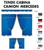 Tende Cabina in Microfibra per Camion MERCEDES ATEGO, MERCEDES AROCS, MERCEDES AXOR, MERCEDES ACTROS