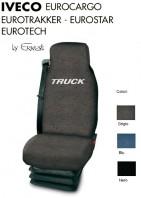 Coprisedile Singolo in Cotone per Camion IVECO EUROCARGO EUROTECH EUROTRAKKER EUROSTAR