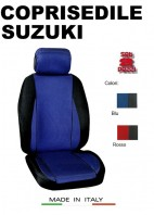 Coprisedili Anteriore Sedile Sportivo in Tessuto Traforato per Auto SUZUKI con AIRbag CHRONO 2Pz.