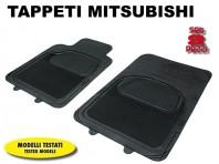 Tappeti Anteriori in Gomma COMFORT per Auto MITSUBISHI