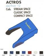 Copricofano Copertura Cofano Trucker Ecopelle su Misura per Camion Mercedes ACTROS Cabina Stream Classic Compact Space