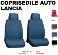 Fodere Coprisedile Anteriori in Cotone per Auto LANCIA 2Pz.