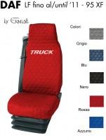 Coprisedile Singolo in Cotone Trapuntato per Camion DAF LF fino al 2011 e 95XF