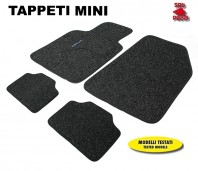 Tappeti in Moquette 4 Pz. EXCLUSIVE per Auto MINI