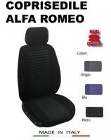 Coprisedili Anteriore Tessuto Imbottito per Auto ALFA ROMEO con AIRbag TREND 2Pz.