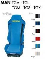 Coprisedile Singolo in Ecopelle e Microfibra Camion MAN TGA TGL TGM TGS TGX