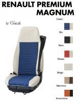Coprisedile Singolo BEST in Ecopelle per Camion Renault PREMIUM e MAGNUM