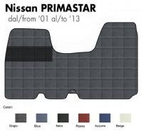 Tappeto Furgone su Misura Nissan PRIMASTAR dal 2001 al 2013