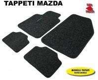 Tappeti in Moquette 4 Pz. EXCLUSIVE per Auto MAZDA