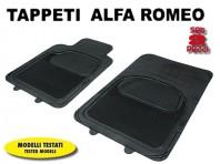 Tappeti Anteriori in Gomma COMFORT per Auto Alfa Romeo