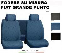 Coprisedili Set Completo in Cotone per FIAT Grande Punto