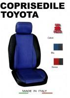 Coprisedili Anteriore Sedile Sportivo in Tessuto Traforato per Auto TOYOTA con AIRbag CHRONO 2Pz.