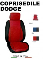 Coprisedili Anteriore Sedile Sportivo in Tessuto Traforato per Auto DODGE con AIRbag CHRONO 2Pz.