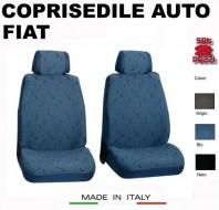 Fodere Coprisedile Anteriori in Cotone per Auto FIAT 2Pz.
