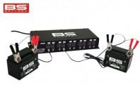 Caricabatterie e Mantenitore Professionale Multiplo 10 Canali