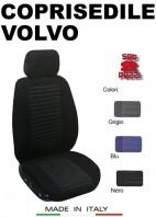 Coprisedili Anteriore Tessuto Imbottito per Auto VOLVO con AIRbag TREND 2Pz.