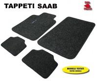 Tappeti in Moquette 4 Pz. EXCLUSIVE per Auto SAAB